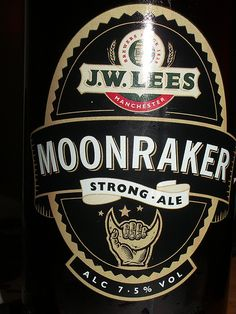 Funny Beer Names - Moonraker    beer labels for books, sayings, etc