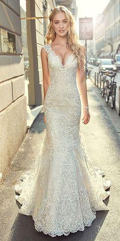 Stunning Tulle wedding dresses, bridal dress, wedding gowns #weddingdress