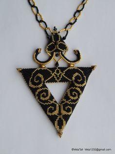 Veta's Art with Beads: Triangle / Треугольник