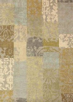Karpet Patchwork.  Would love to have something like this at my sitting area
