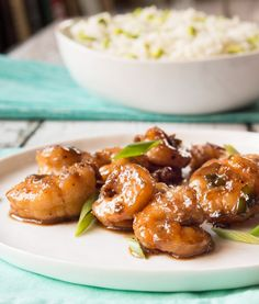 Recipe: Bourbon-Glazed Shrimp