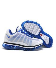 Nike Air Max 95 Womens White Blue Trainer