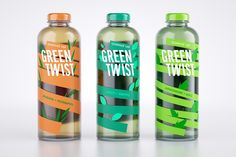 GREEN TWIST Herbal Tea on Packaging of the World - Creative Package Design Gallery