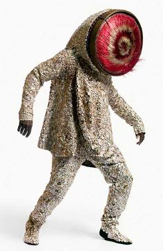 Nick Cave | inspired by african ceremonial costumes, this artist creates  spellbinding cross-cultural sculptures with uniquely rich combinations.