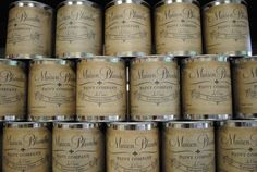 We use Maison Blanche Paint at our Chalk Paint Classes!  http://livingonthebliss.com/chalk-paint-classes-at-living-on-the-bliss/