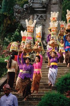 of the Gods From SAVEUR Issue Like every girl in Bali, I was taught how to make banten, food offerings, at an early age. Keep reading Bali Travel, Thailand Travel, Cambodia Travel, Bali Holidays, Asian History, Paradise Island, Happy People, Beautiful Islands, People Around The World