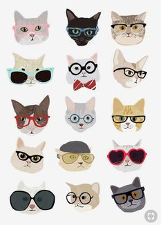 Apparel Sewing & Fabric Cartoon Cat Printed Canvas Fabric To Suit The PeopleS Convenience Arts,crafts & Sewing