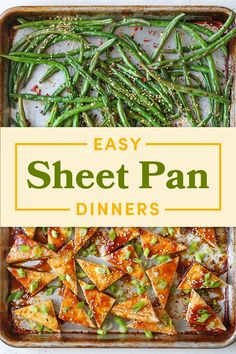 14 Quick Dinner Ideas That Only Require One Sheet Pan To Make The best part? You'll only need to wash one dish. Healthy Meal Prep, Healthy Eating, Healthy Recipes, Yummy Recipes, Dinner Recipes, Dinner Dishes, Healthy Dinners, Quick Recipes, Healthy Foods