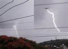 UFO PROOF THEY DO CAUSE MASSIVE ELECTRICAL LIGHTNING