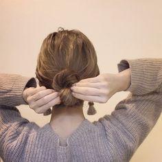 首元すっきりでオシャ見え♡アップで攻める冬のヘアアレンジ10選 - LOCARI(ロカリ)
