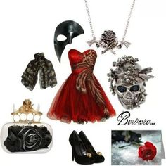 Awesome! I want to go to a masquerade party so I can wear this!
