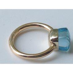 Image result for pomellato nudo blue ring
