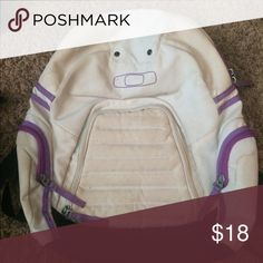 Oakley backpack Purple and grey in color. No rips or holes. A wash would make it look like new again. Oakley Bags Backpacks