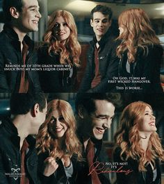 "#Shadowhunters 2x01 ""This Guilty Blood"" - Simon and Clary"