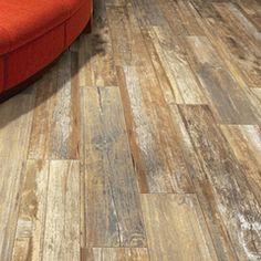 x Boardwalk Venice Beach - Wood Look Porcelain Tile By Mediterranea Tile Wood Like Tile, Wooden Floor Tiles, Porcelain Wood Tile, Porch Tile, Patio Tiles, Beach Wood, Cottage Kitchens, Best House Plans, Flooring Options