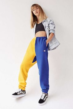 b9d2c37826 Champion Colorblock Jogger Pant