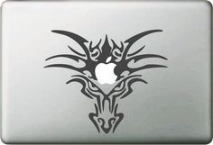 """Huge discount and free worldwide shipping by using coupon code """"MAC24"""". Now on https://macbook24.com Macbook Sticker & Vinyl Dragon Head  #apple #instago #girl #iphoneonly #coupon #instafollow #personalize #webstagram #look #like4like #cover #instalike #smile #sale #style"""