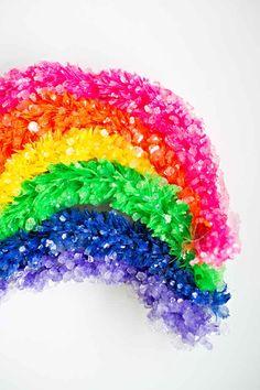 Or a crystallized rainbow.