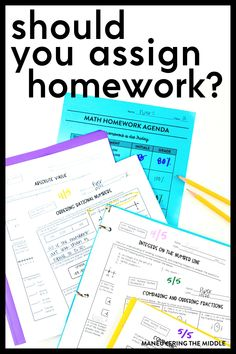 Ordering Fractions, Ordering Numbers, Homework, Professional Learning Communities, Absolute Value, First Year Teaching, Common Core Math Standards, Lesson Planning, Best Practice