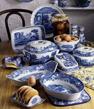 spode blue italian dinnerware - Google Search  Stop by my Etsy Shop: www.etsy.com/shop/TeoldDesign