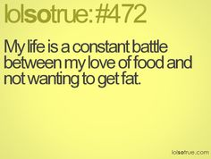 It really is the story of my life :)