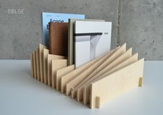 Modular document and book organizer. on Behance Cnc Projects, Woodworking Projects Diy, Woodworking Shop, Diy Books Organizer, Book Organization, Cardboard Toys, Cardboard Furniture, Cardboard Playhouse, Playhouse Furniture