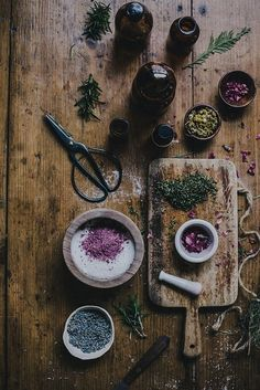 rustic Magic tea cooking rose Witch garden kitchen witchcraft magical lavender apothecary loose leaf tea divination witchy chamomile green witch tasseography tea leaf reading mortar and pestel thegoodspellbook