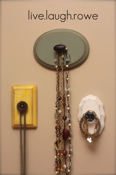 I would love this for hanging anything. Bigger knobs could hold coats or umbrellas. I love it!