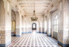 Spectacular Historical Beauty of an Empty Italian Castle Captured Before It's Too Late - My Modern Met