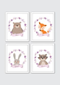 Awesome Etsy listing at https://www.etsy.com/pt/listing/216165478/woodland-nursery-art-woodland-nursery