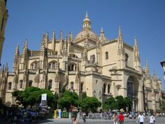 Segovia Roman Catholic Cathedral, Spain