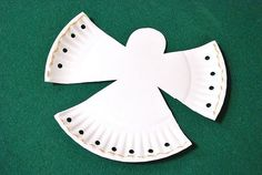 Preschool Crafts for Kids*: Simple Paper Plate Christmas Angel