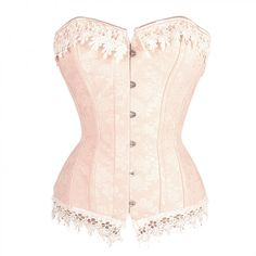 Not the strongest of corsets, but very pretty.