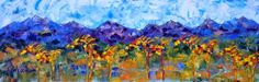 """Where ART Lives Gallery Artists Group Blog: Palette Knife Abstract Horse Art  Painting """"Cinco ..."""
