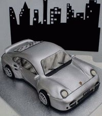 Cars, Trucks, Airplans, Scrollers, Ships, Motorcycles -Cake Decorating Tutorials (How To's) Tortas Paso a Paso
