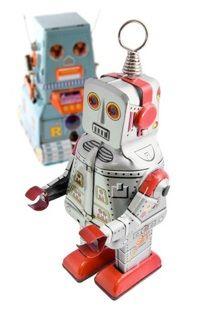 Retro Toy Robot Party Ideas