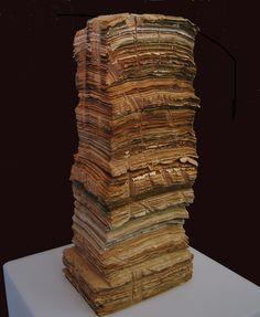 "Saatchi Online Artist: Natalya Zaloznaya; Paper-Mache, Sculpture ""Diary"""