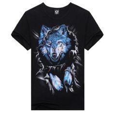 Men's O-neck Black Creative Animal T-Shirt Short Sleeve Digital Wolf 3D Printed Shirt Tops ₱500.00  Material: cotton Product link: http://www.thefunstuffshop.com/product/mens-o-neck-black-creative-animal-t-shirt-short-sleeve-digital-wolf-3d-printed-shirt-tops/  #thefunstuffshop #metrofashion #sassy #standout #summer #summeroutfit #fashionstatement #onlineshop #shopping #hotdeals #greatdeals #clothing #3D #men