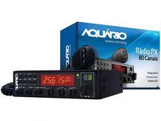 Rádio Transmissor 7W - Aquário PX RP-80 com as melhores condições você encontra no Magazine Siarra. Confira!