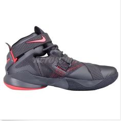 sale retailer 2847f dc8dc NEW LEBRON SOLDIER IX PRM SZ 9.5 DARK GREY LBJ MEN S BASKETBALL SHOES  749490 008  Nike  AthleticSneakers