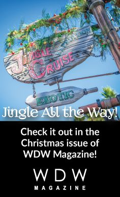 If you've never experienced the Jingle Cruise ... you have no idea all the special holiday fun you may have missed!  This month's WDW Magazine takes you there!