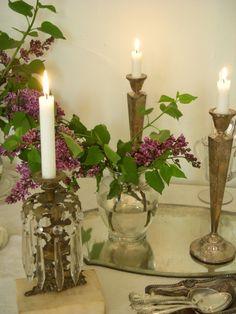 Vintage candleholders...