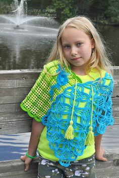 I bought the pattern but haven't made it yet. Jardin Hip Shawl Crochet Pattern/Ebook PDF Sizes Kids to Adult