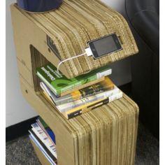 Cool Diy Cardboard Furniture Design Ideas To Try Asap 14 Cardboard Chair, Cardboard Recycling, Diy Cardboard Furniture, Cardboard Design, Paper Furniture, Cardboard Paper, Cardboard Crafts, Recycled Furniture, Furniture Plans