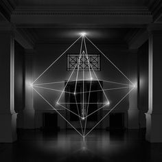 Geometric Sculptures Produced From the Immateriality of Light by James Nizam   Colossal