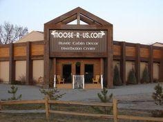 Moose-R-Us.Com About Us Order Information Cabin decor, lodge decor, log cabin decor, moose decor, fishing decor, rustic cabin