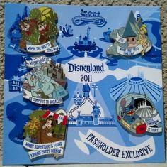 DLR - #Disneyland Resort Annual Passholder - Where... #DisneyPin Collectors Set #MickeyMouse #TinkerBell #Stitch