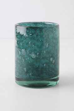 Bubbled Drum Pillar Holder #anthropologie 5.25 high, 4 diameter 28