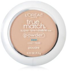 L& Paris True Match Super-Blendable Powder, Natural Beige, oz. -- Check this awesome product by going to the link at the image. Loreal True Match, Get Healthy, Concealer, Bronzer, Color Plus, Classic Tan, Oil Free Makeup, No Foundation Makeup, L'oréal Paris