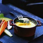 Kleine kaasfondue met groenten